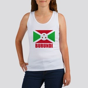 Burundi Flag Women's Tank Top