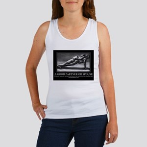 A good partner or spouse Women's Tank Top