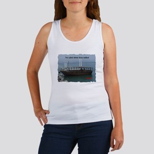 I've Sailed Where Jesus Walked Women's Tank Top