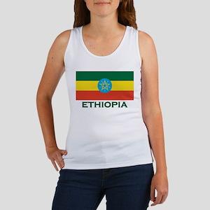 Ethiopia Flag Merchandise Women's Tank Top
