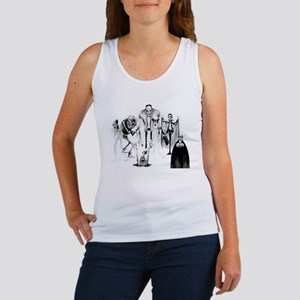 Classic movie monsters Women's Tank Top