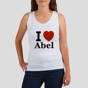 I love Abel Women's Tank Top