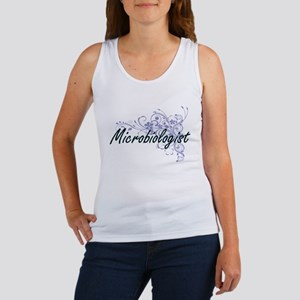 Microbiologist Artistic Job Design with F Tank Top