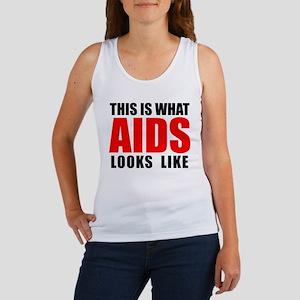What AIDS looks like Women's Tank Top