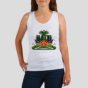Haitian Coat of Arms Women's Tank Top
