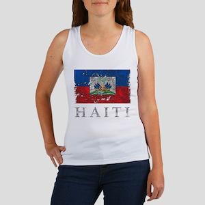vintageHaiti3Bk Tank Top