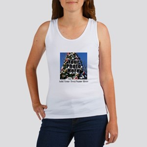 Custom Personalized Color Photo and Text Tank Top