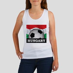 Hungary Football Women's Tank Top