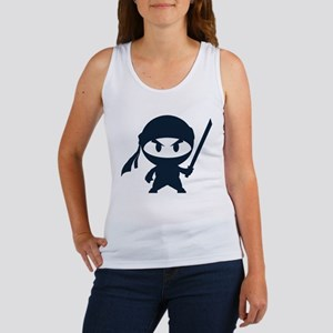 Angry ninja Women's Tank Top