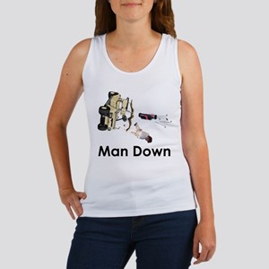 MAN DOWN Women's Tank Top