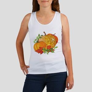 Fall Pumpkins Women's Tank Top