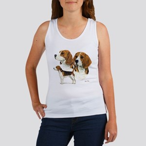Beagle Multi Women's Tank Top