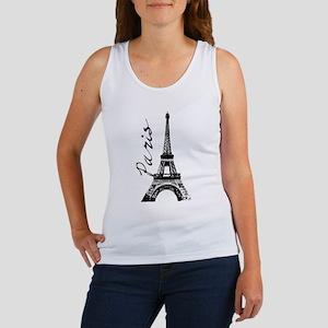 Paris Eifel Tank Top