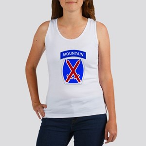 10th MOUNTAIN DIVISION Women's Tank Top