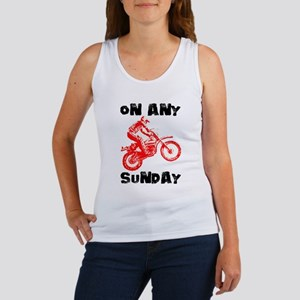 ON ANY SUNDAY Women's Tank Top