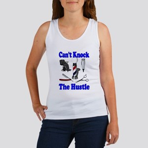 Cant Knock The Hustle-Blue Women's Tank Top