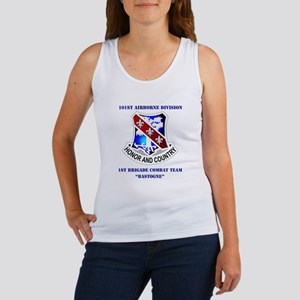 DUI - 1st BCT - Bastogne with Text Women's Tank To