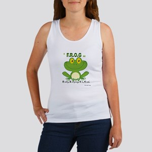 F.R.O.G. Fully, Relying,On,God Tank Top