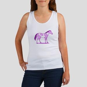 Purple Horse Tank Top