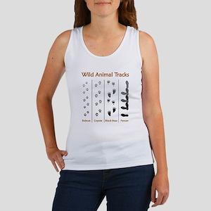 Wild Animal Tracks Women's Tank Top