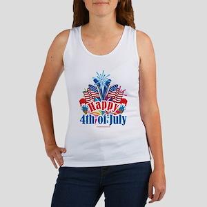 Happy 4th of July Women's Tank Top