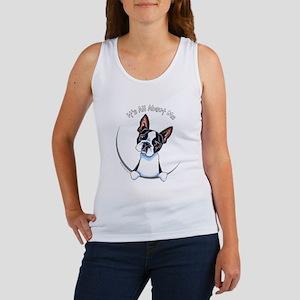 Boston Terrier IAAM Full Women's Tank Top