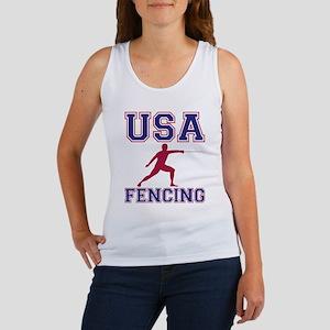USA Fencing Women's Tank Top