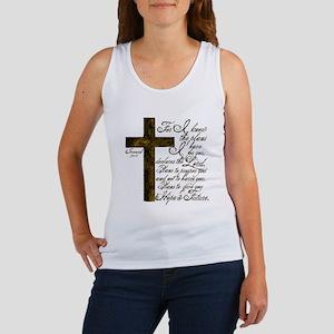 Plan of God Jeremiah 29:11 Women's Tank Top