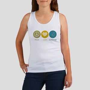 Peace Love Acupuncture Women's Tank Top