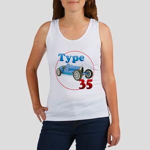 Bugatti35-C8trans Women's Tank Top