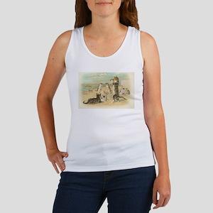 Kitties on the Beach Women's Tank Top