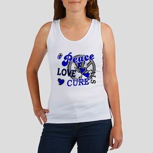 Peace Love Cure ALS 2 Women's Tank Top