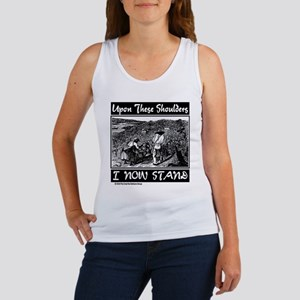 """Upon These Shoulders"" Women's Tank Top"