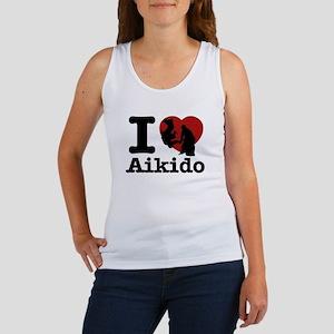 Aikido Heart Designs Women's Tank Top