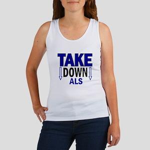 Take Down ALS 1 Women's Tank Top