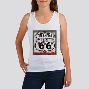 Oklahoma Route 66 Classic Women's Tank Top