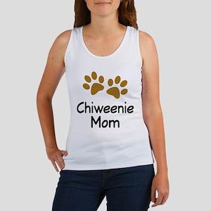Cute Chiweenie Mom Women's Tank Top