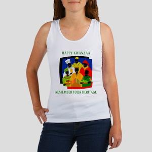 Happy Kwanzaa Women's Tank Top