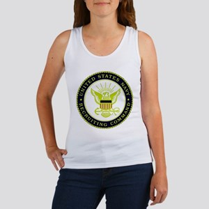 US Navy Recruiting Command Women's Tank Top