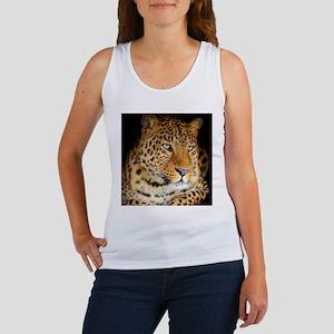 Leopard Portrait Tank Top