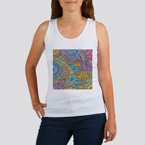 Colorful Abstract Tank Top