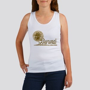 Palm Tree Burundi Women's Tank Top
