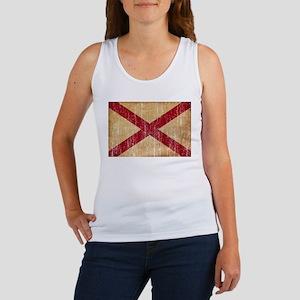 Alabama Flag Women's Tank Top
