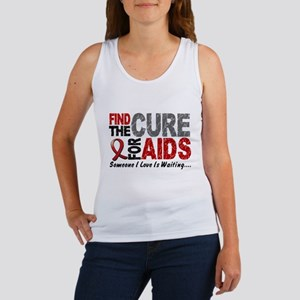 Find The Cure 1 HIV AIDS Women's Tank Top