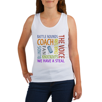 the voice tank top