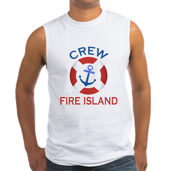 Fire Island Anchor Crew Shirt