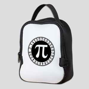 Pi sign in circle Neoprene Lunch Bag