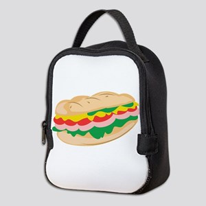 Sub Sandwich Neoprene Lunch Bag