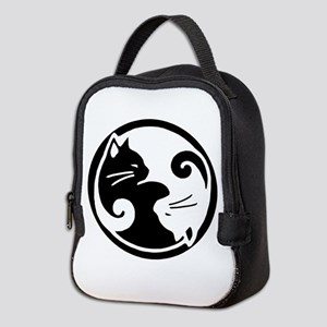 55fb6216be Yoga Cat Insulated Lunch Bags - CafePress