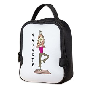 938c7559c6 Yoga Insulated Lunch Bags - CafePress
